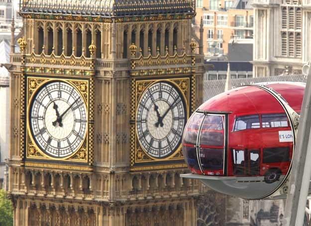 W ogromnym Londynie, można żyć, jak w małym miasteczku... /AFP