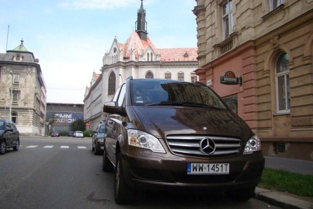 W Ołomuńcu zaparkowaliśmy w bocznej ulicy blisko centrum miasta /INTERIA.PL