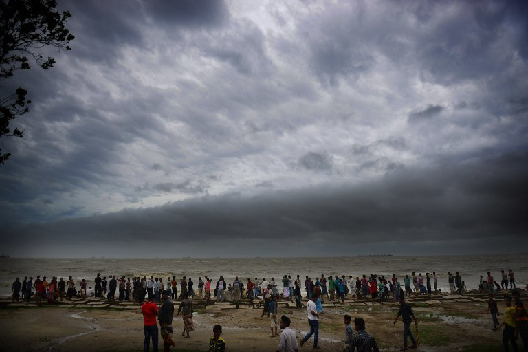 W ostatnich dniach siła cyklonu osłabła /AFP