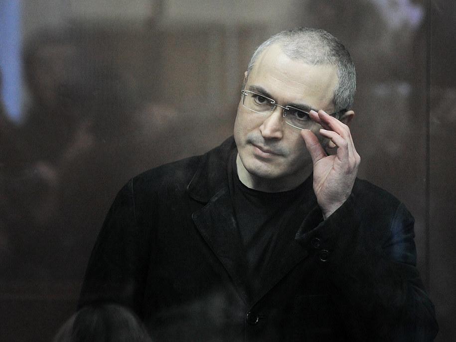 W październiku 2003 Michaił Chodorkowski został aresztowany, a jego koncern doprowadzono do bankructwa /ITAR-TASS/Stanislav Krasilnikov /PAP