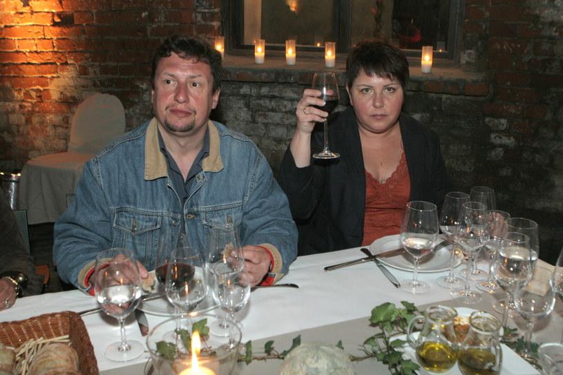W październiku obchodzą rocznicę ślubu! (Zdjęcie z 2008 r.) /Maciąga /Agencja FORUM