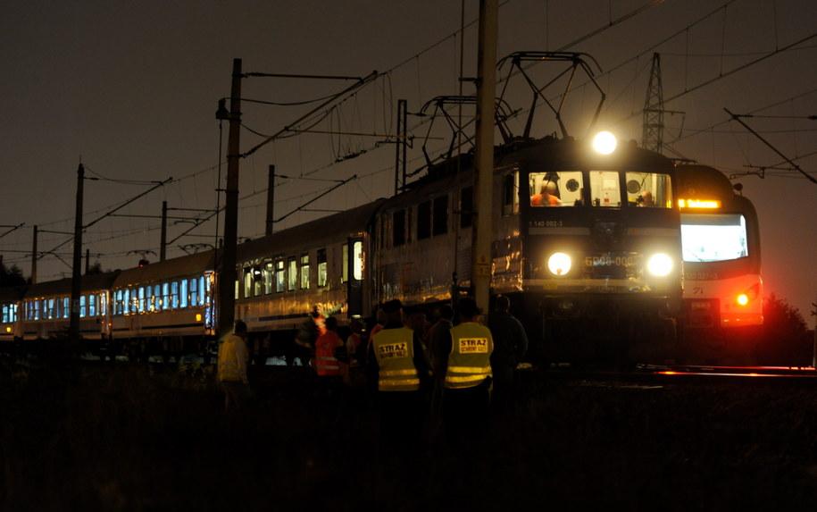 W piątek w Warszawie o mały włos nie zderzyły się dwa pociągi /Bartłomiej Zborowski /PAP