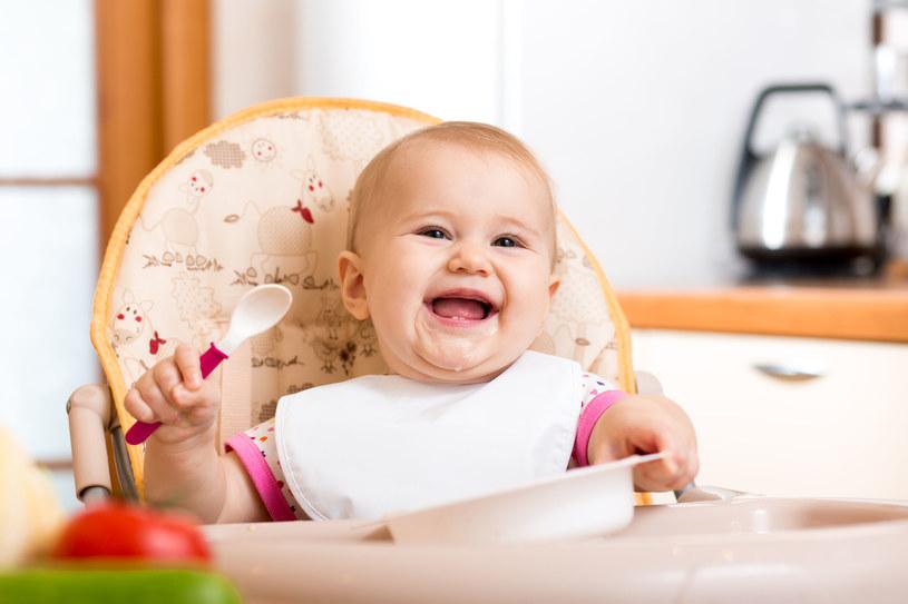 W pierwszych latach życia dziecko uczy się rozpoznawania u siebie uczucia głodu i sytości /123RF/PICSEL