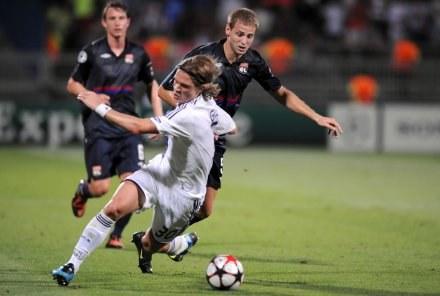 W pierwszym meczu Olympique Lyon pokonał Anderlecht 5:1 /AFP
