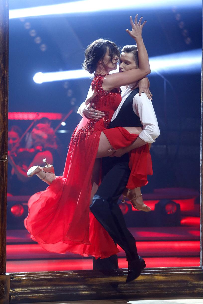 W pierwszym odcienku show Ewa Błachnio i Jacek Jeschke zaprezentowali tango /AKPA
