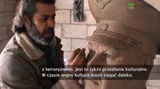 W podziękowaniu Rosji. Syryjski artysta wyrzeźbił popiersie pilota zestrzelonego nad Turcją