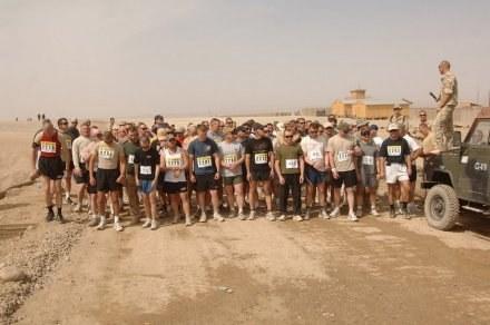 W półmaratonach w Afganistanie wzięło udział 131 osób /Informacja prasowa