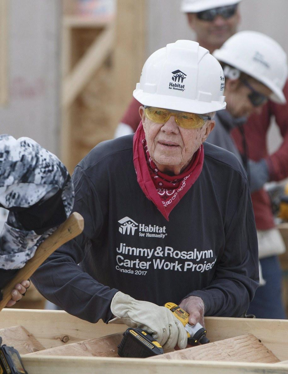 W połowie lat 90. Jimmy Carter z własnej inicjatywy udał się do Korei Płn. i zawarł porozumienie z Kim Ir Senem, dziadkiem obecnego przywódcy / Franson Jason/Canadian Press/ABACA /PAP/EPA