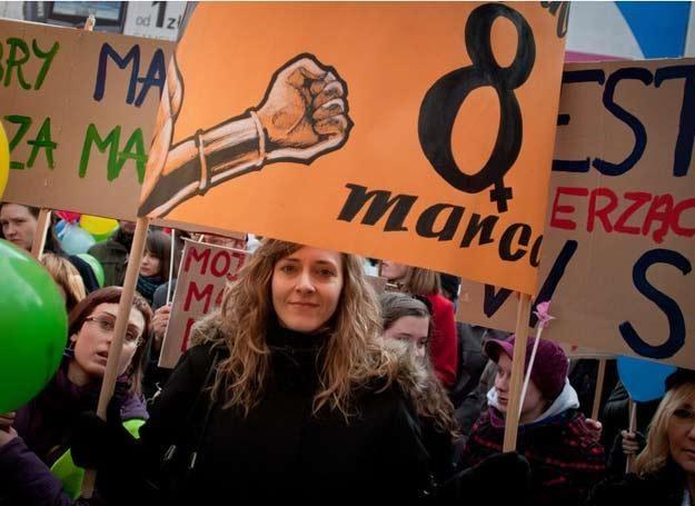 W Polsce 8 marca to dziś dzień Manif / fot. Natalia Dobryszycka /East News