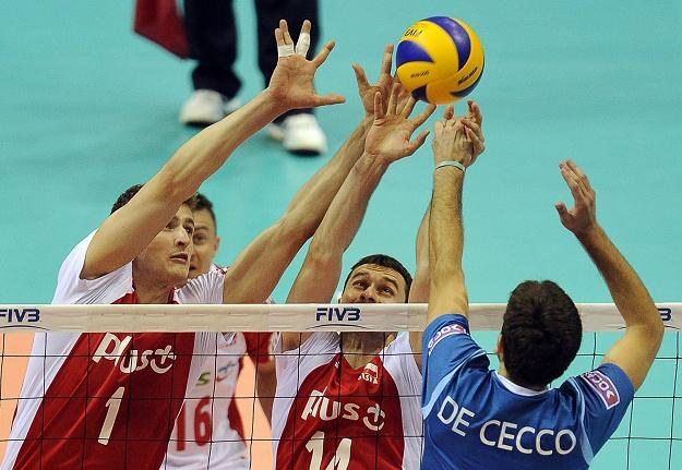W polskim bloku Piotr Nowakowski i Michał Ruciak /AFP