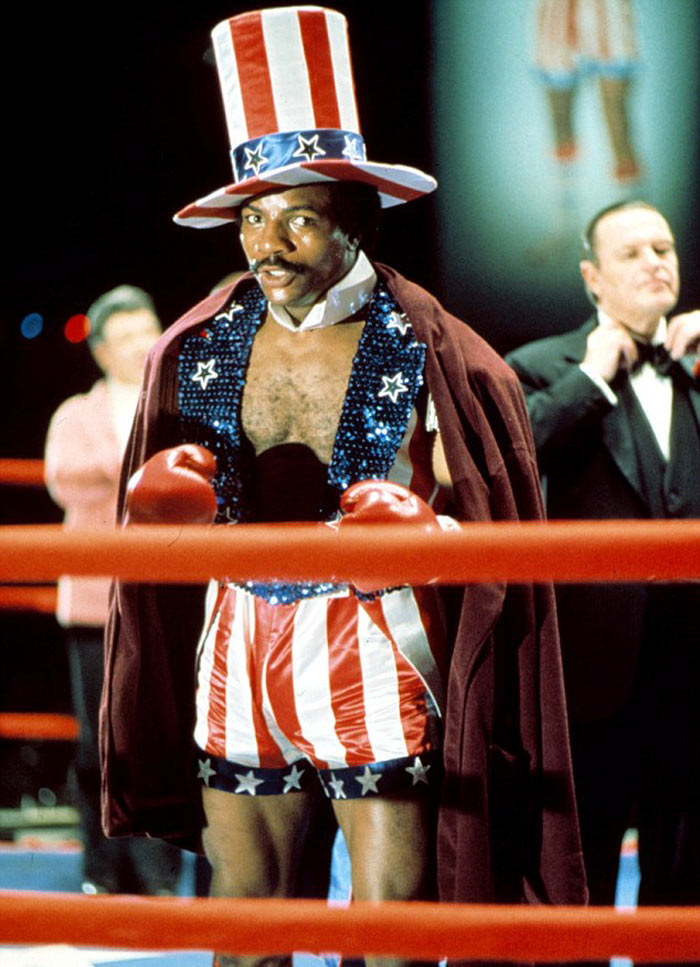 """W postać Apolla Creeda w filmie """"Rocky"""" wcielił się Carl Weathers /Mary Evans Picture Library /East News"""