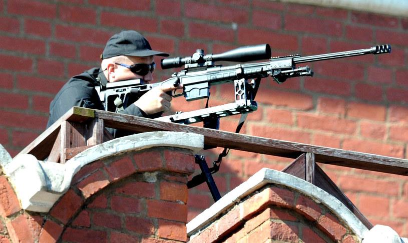 W potyczce z terrorystami ranny został jeden żołnierz sił specjalnych. /AFP