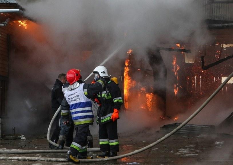W pożarze w Daliowej na Podkarpaciu zginęła matka czórki dzieci, zdjęcie ilustracyjne /Michał Adamowski /Reporter