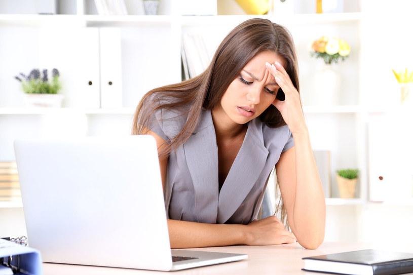W pracy martwiłam się sytuacją w domu, w domu - pracą... /©123RF/PICSEL