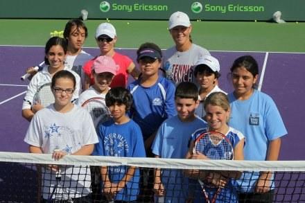 W przedszkolu maratończyków tenisa nie będzie, ale uśmiechy na twarzy z pewnością tak. /AFP