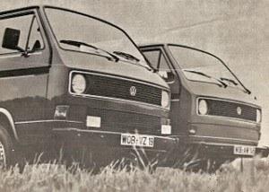 W rodzinie samochodów dostawczych VW pojawił się nowy szczegół rozpoznawczy - sięgający prawie na całą szerokość pojazdu wlot powietrza do chłodnicy. Era silnika chłodzonego powietrzem dobiega końca. /Volkswagen