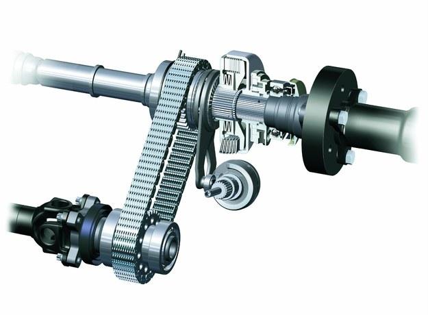 W rozwiązaniu stosowanym przez BMW sprzęgiełko napędu przedniej osi sterowane jest nie elektromagnesem, lecz silnikiem elektrycznym. /BMW