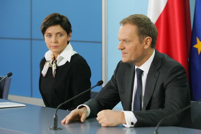 W rządzie Donalda Tuska Joanna Mucha pełniła funkcję ministra sportu /Piotr Kowalczyk /East News