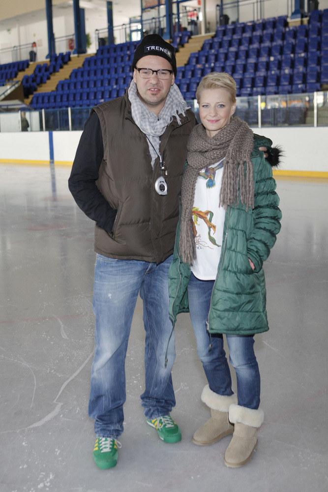 W serialu Rodzinka.pl Małgorzata Kożuchowska często prezentuje się w zimowym outficie /AKPA