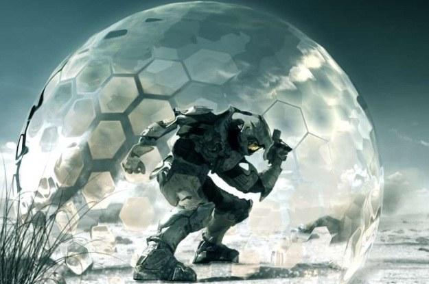"""W serii gier """"Halo"""" często używa się pola siłowego /materiały prasowe"""