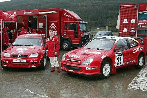 W sezonie 2002 doskonale w barwach Citroena spisywał się Sebastian Loeb (kliknij) /INTERIA.PL