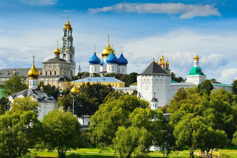 W soborze Trójcy Świętej w Siergijew Posad znajdują się relikwie św. Siergieja Radoneżskiego /123RF/PICSEL