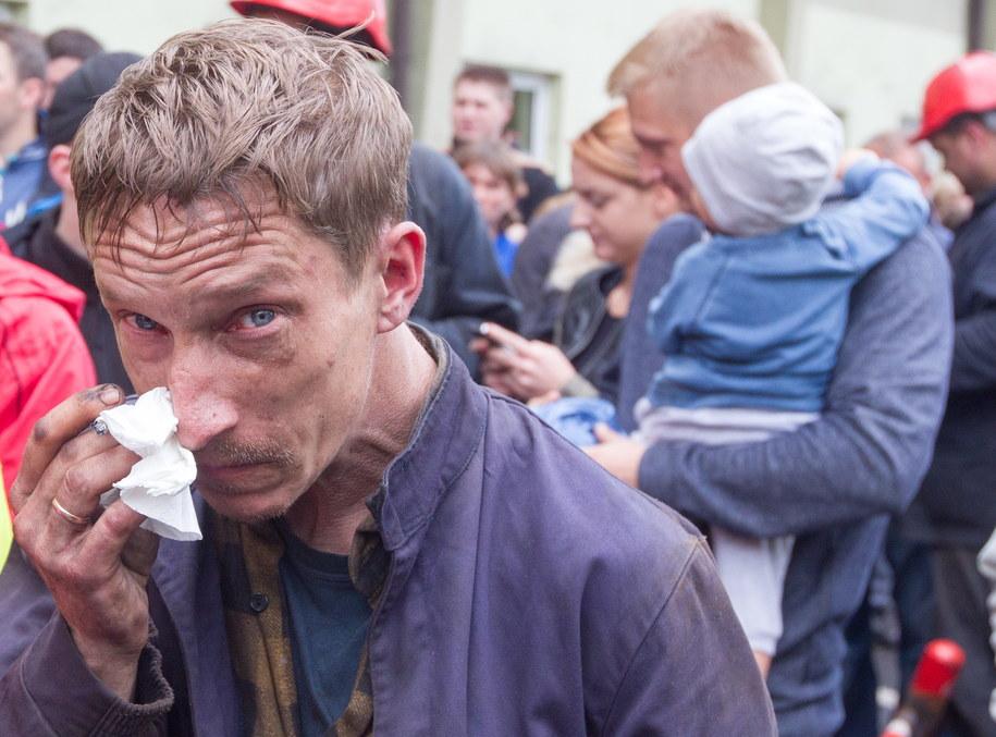 W sobotę górnicy przerwali trwający od środy podziemny protest /Andrzej Grygiel /PAP