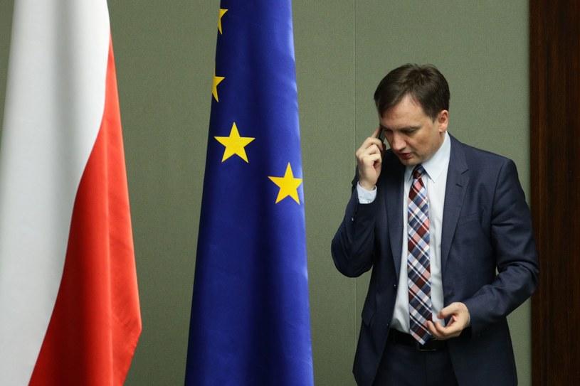 W sprawie wpisu interweniował Zbigniew Ziobro /Stanisław Kowalczuk /East News
