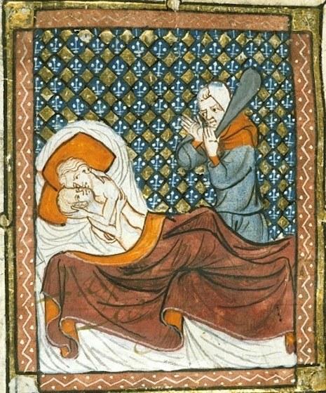 W średniowieczu nie było mowy o jakiejkolwiek czułości /dangerousminds.net /INTERIA.PL
