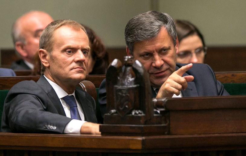 W środę Tusk ma poinformować o zmianach w składzie rządu. /Andrzej Iwańczuk /Reporter