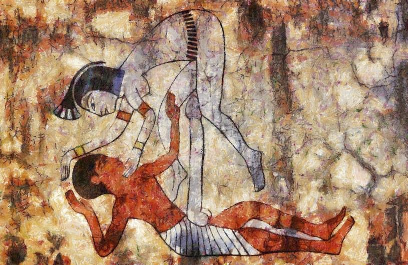 W starożytnym Egipcie taka odważna sztuka była na porządku dziennym /123RF/PICSEL