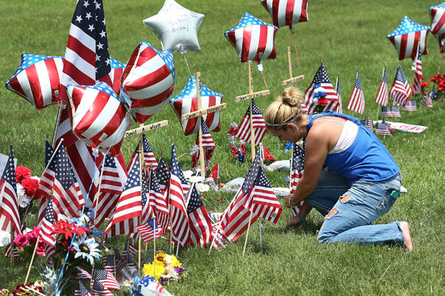 W strzelaninie w Chattanooga zginęło pięć osób fot. Joe Raedle / Getty Images North America /AFP