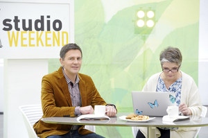 """W """"Studio weekend"""" znajdzie się miejsce również na porady (na zdj. Krzysztof Ibisz z Dorotą Zawadzką) /  /AKPA"""