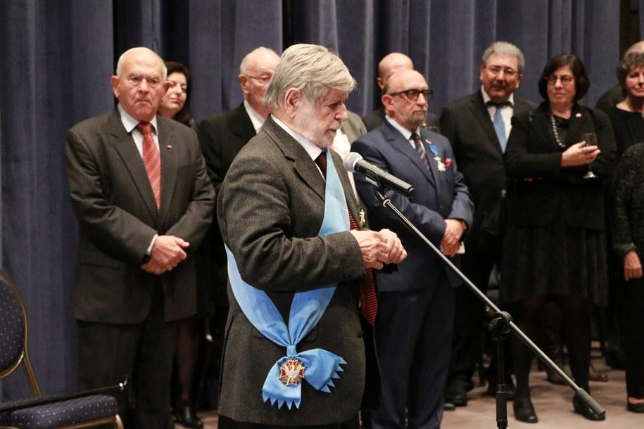 W styczniu br. prezydent Andrzej Duda odznaczył Weissa Orderem Orła Białego /Archiwum RMF FM