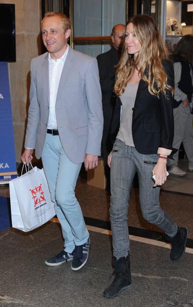 W styczniu tego roku aktor wziął cichy ślub z Katarzyna Gwizdałą /MWMedia