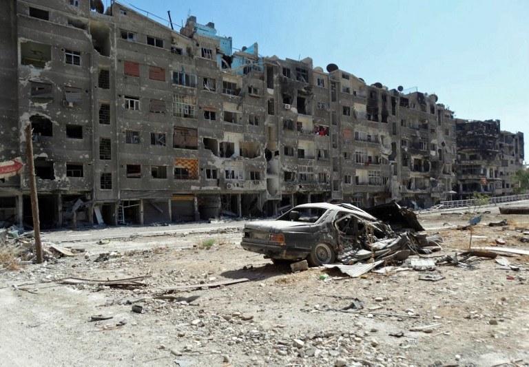 W Syrii trwaja walki /AFP