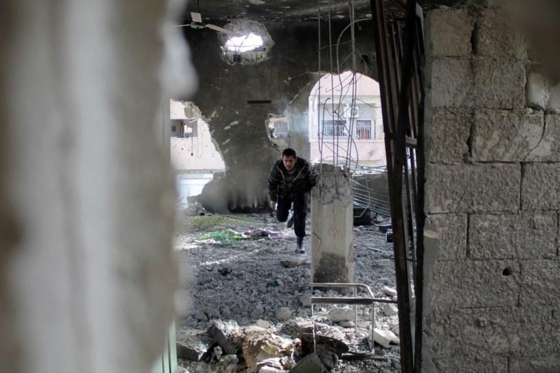 W syryjskim konflikcie zginęło blisko 126 tys. osób /AFP