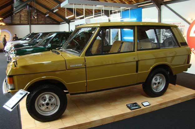W tamtejszym muzeum zostały wyeksponowane m.in. cztery generacje Range Rover'ów /INTERIA.PL