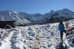W Tatrach panoszy się zima