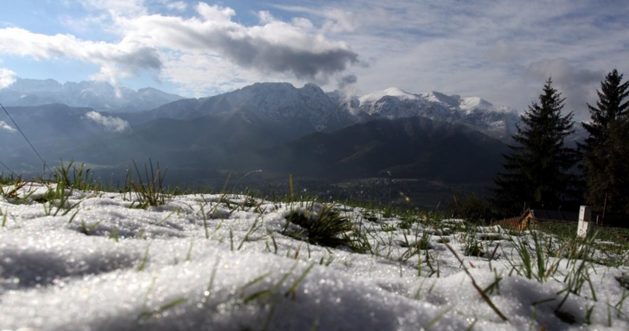 W Tatrach pobielało