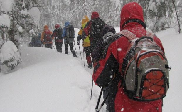"""W Tatrach rośnie zagrożenie lawinowe. """"Zima wraca na całego"""""""
