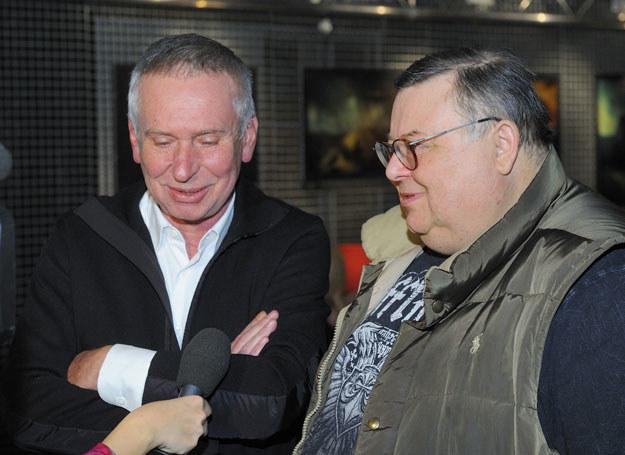 """W telewizyjnym show """"MdM"""" Mann i Materna stworzyli niezapomniany duet /MWMedia"""