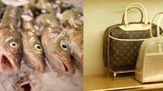 W torebce Louis Vuitton woziła... żywe ryby!
