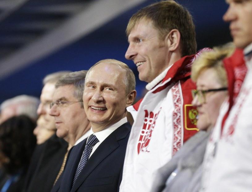 W towarzystwie Aleksandra Zubkowa prezydent Rosji Władimir Putin /AFP