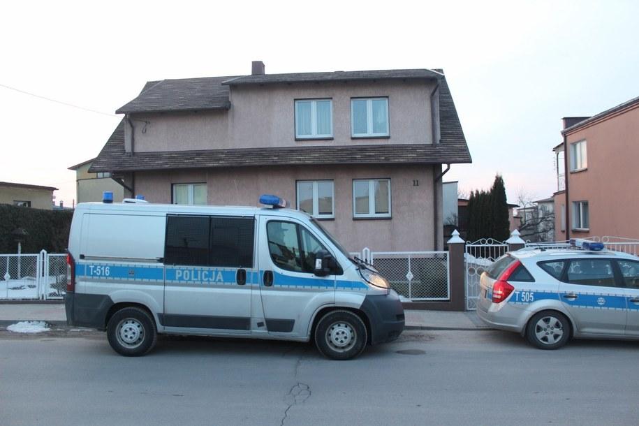 W tym domu odnaleziono zwłoki noworodków /Piotr Bułakowski /RMF FM