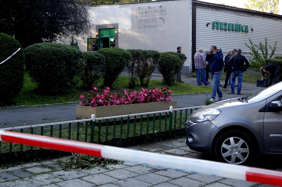 W tym miejscu doszło do strzelaniny /Andrzej Grygiel /PAP