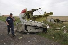 W tym miejscu spadł zestrzelony Boeing 777