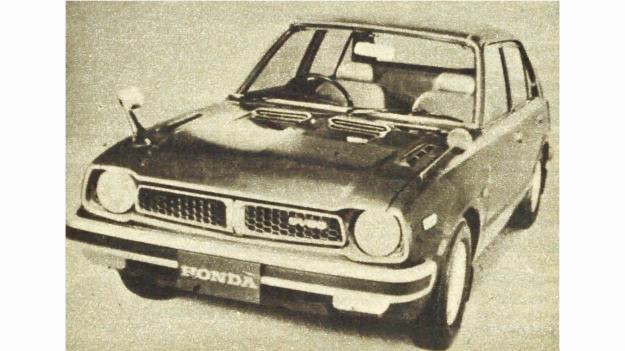 """W tym oto samochodzie oferuje Honda swój """"czysty silnik"""" Pierwsze dostawy masowe rozpocząć się mają w drugiej połowie bieżącego roku. /Motor"""