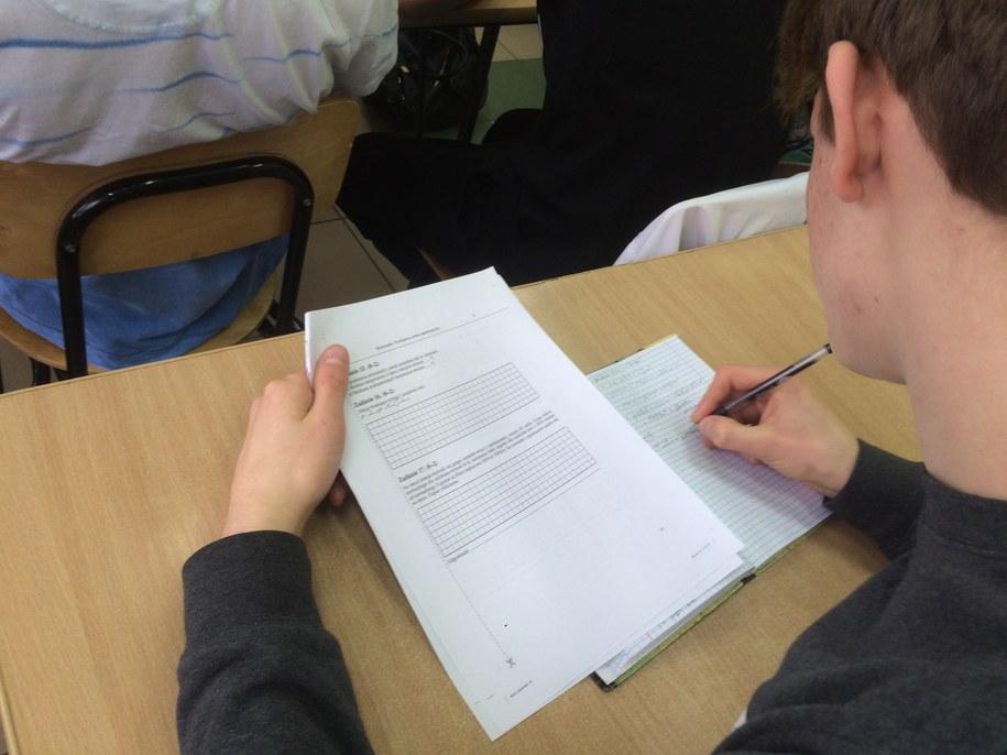 W tym roku egzamin gimnazjalny rozpocznie się w drugiej połowie kwietnia /Krzysztof Kot /RMF FM