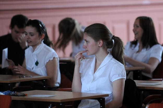 W tym roku język angielski na maturze zdaje 340 tys. osób/fot. Tytus Żmijewski /PAP